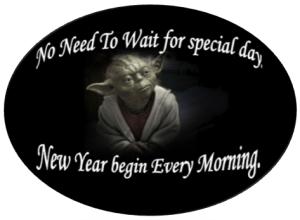 I bow to Yoda's wisdom.