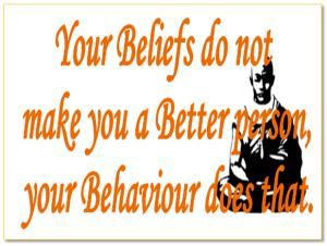 Good Behaviour pays.