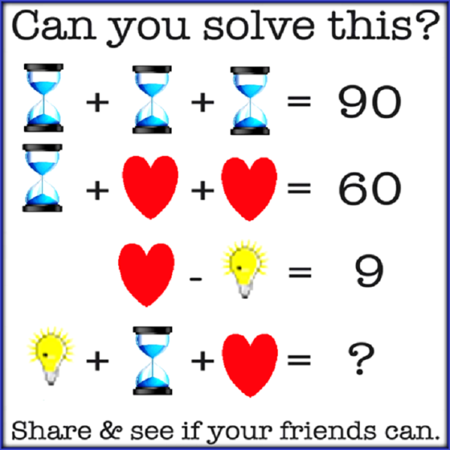 Can you solve this.