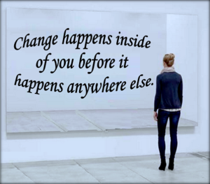 If you want to change.