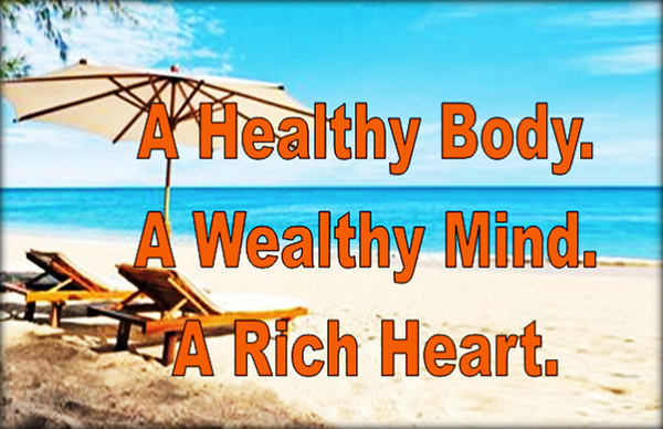 healthy wealty rich