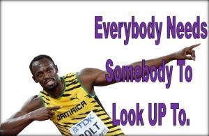 Everybody Needs Somebody.