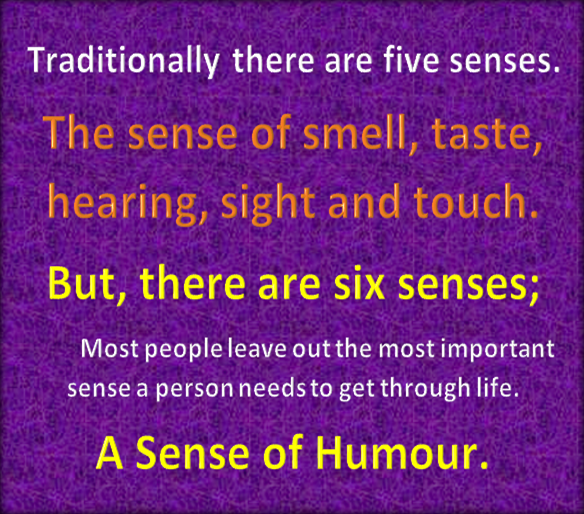The five senses.