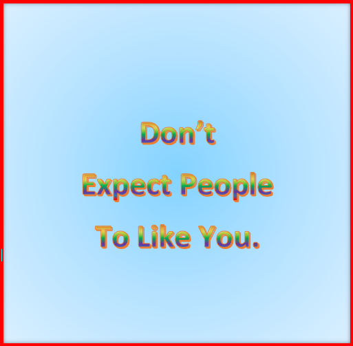 Managing your expectations 2