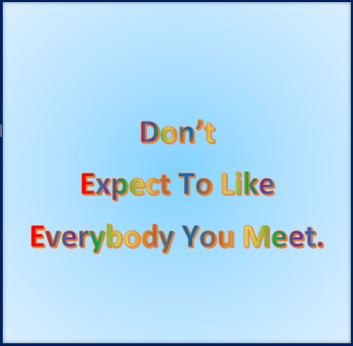 Managing your expectations 3