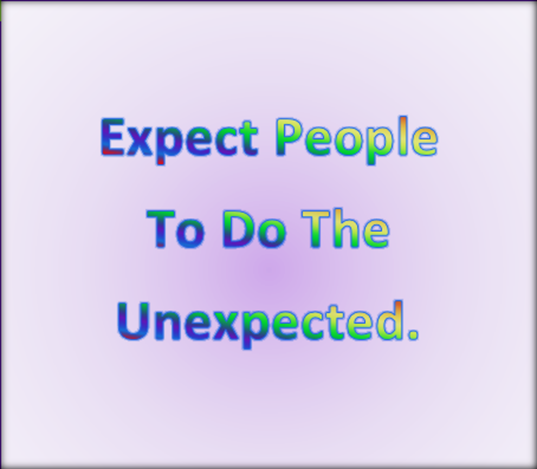 Managing your expectations 4