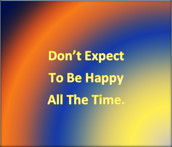 Managing your expectations 6