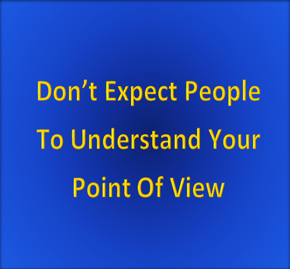 Managing your expectations 7