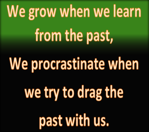 We grow or we don't.