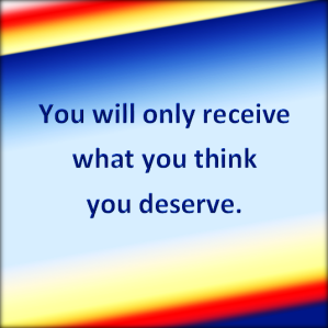 What you think of you is important.