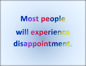 Expect to be disappointed.