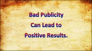 Bad publicity 2