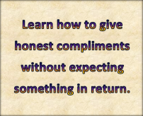 honest compliments