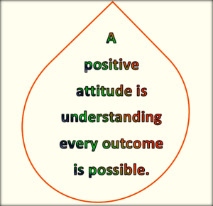 positive people focus on positive outcomes